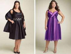 Moda para Gorditas: Vestidos para ir a una boda de día