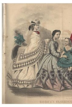 August 1864 | Godey's Lady's Book | Entire Magazine
