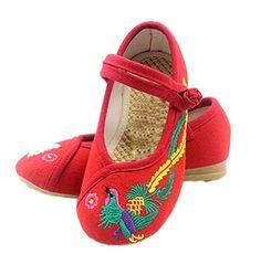 Soojun Girls Retro Embroidery Phenix Mary Janes Flats (To... https://www.amazon.com/dp/B01HXVOCX4/ref=cm_sw_r_pi_dp_x_3BahybVZMF2WF
