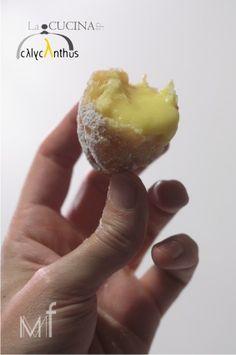Bignè di San Giuseppe alla Crema d'Arancia e Zafferano