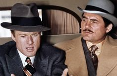 """The Sting"" Redford with Robert Shaw"