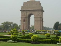 Sir Edward Lutyens India Gate British Colonial period 20th century. Roman Doric Order with Indian massing and ornamentalism.  Delhi order.