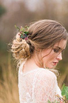 Romantic Bohemian Wedding Hairstyles