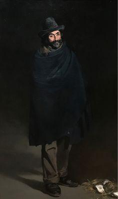 Edouard Manet, Mendiant avec des huîtres 1865 on ArtStack #edouard-manet #art