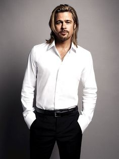 Brad Pitt is one of my favorite actors. And then, he's incredibly, totally awesome.