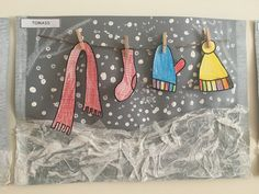 Winter scene Winterszene The post Winterszene appeared first on . Winter Art Projects, Winter Project, Winter Crafts For Kids, School Art Projects, Art For Kids, Winter Szenen, Winter Kids, Winter Theme, Kindergarten Art