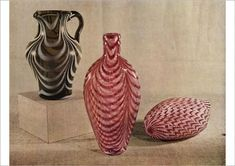 Print of Nailsea jug and flasks, late half of the century, Creator: Unknown Fine Art Prints, Framed Prints, Poster Prints, William Collins, Bottle Manufacturers, Glass Flask, One Half, Heritage Image, Art Reproductions