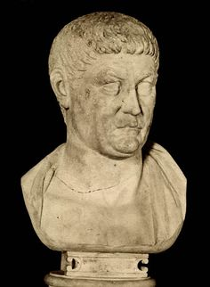 Constantius Chlorus, the father of Constantine. Marble. Rome, Capitoline Museums