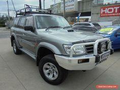 2003 Nissan Patrol GU III MY2003 ST-L Grey Manual 5sp M Wagon #nissan #patrol #forsale #australia