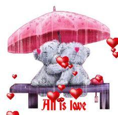 "♡ Tatty Teddy ~ ""Love in the Rain"" ♡ Tatty Teddy, Cute Images, Cute Pictures, Urso Bear, Teddy Bear Quotes, Teddy Bear Pictures, Blue Nose Friends, Love Bear, Cute Teddy Bears"