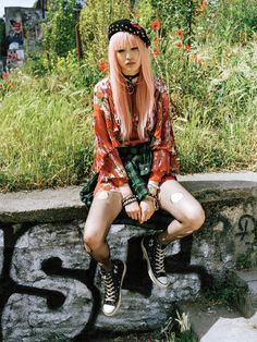visual optimism; fashion editorials, shows, campaigns & more!: pink lady: fernanda ly by sean thomas for teen vogue september 2015