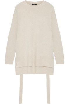 Theory - Karenia Cashmere Sweater - Beige