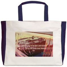 Travel: The Best Way.. Beach Tote
