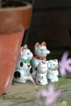 Japanese beckoning cat, Maneki-neko 招き猫