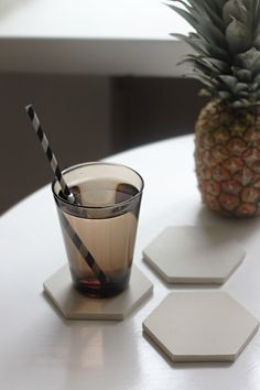easy DIY coaster - SEES by Sanni