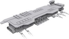nice spaceship carrier