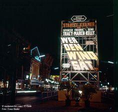 Berlin-Kudamm 1960 25.06 Berlin Charlottenburg Deutschland Filmuraufführung Germany Kudamm Kurfürstendamm Wer den Wind sät medienarchiv.com fotos
