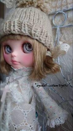 "* ayudoll Custom Blythe * ""tea with milk""   Buy her here:   #blythe #blythedolls #kawaii #cute #rinkya #japan #collectibles #neoblythe #customblythe"