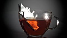 Titanic tea bag holder...  Awesome.  Trust me Rose, this is some damn good tea.