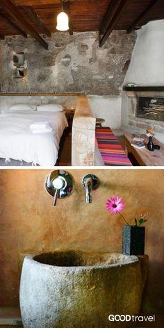 Die Einrichtung Dieses Berghotels Ist Authentisch: Alte, Rustikale Möbel  Erhalten Schön Restauriert Den Ursprünglichen