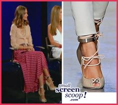 Olivia Palermo on Project Runway - loved the whole outfit!