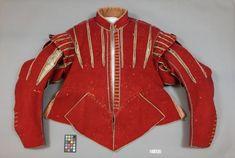 Röd tröja /red doublet, 1620s, owned by King Gustavus II Adolphus of Sweden | Livrustkammaren, Stockholm