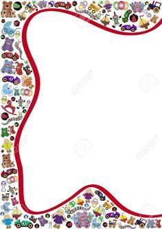 Spielzeug Hintergrund Rot Geschwungene Linie Lizenzfrei Nutzbare Vektorgrafiken, Clip Arts, Illustrationen. Image 11501471.