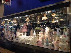#FairyTale at #HarveyNichols #Mall of the Emirates 2014 #Festive Season #Cakes all around #Dream or nightmare #Cake overdose #Pastel colors