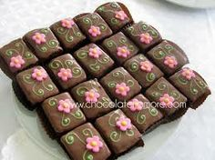 brownies decorados - Buscar con Google