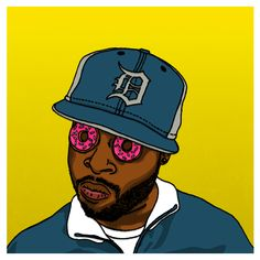 Illustrations of J DIlla!!!!