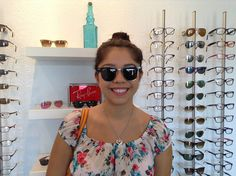 Check out Gabriela in her new classic Clubmaster suns! Ray Bans, Freedom, Classic, Check, Liberty, Derby, Political Freedom, Classic Books