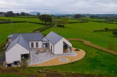 Award-Winning Northern Ireland architects, based in Ballymena, working in Northern Ireland, Ireland, & the rest of the UK. Specialising in contemporary & traditional architecture. Modern Barn House, Modern Bungalow House, Bungalow Exterior, Bungalow House Plans, Dream House Plans, House Floor Plans, Craftsman Bungalows, House Designs Ireland, Single Storey House Plans