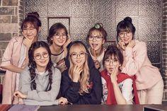 Idol Drama Operation Team cast photo (Seulgi Somi Moonbyul YooA Sujeong Sohee and D. Girl Day, My Girl, South Korean Girls, Korean Girl Groups, Girl's Day Yura, Team Wallpaper, Mamamoo Moonbyul, Woollim Entertainment, Pop Idol