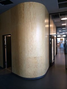 KU, Copenhagen Plant Science Center.  Wood panels.  Arcihect: Lundgaard & Tranberg  For more information regarding wood panels contact Tripplex Acoustic +45 98339591 or info@tripplex.dk