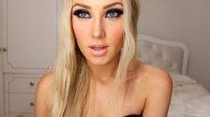 NEW YEARS EVE makeup tutorial!, via YouTube.