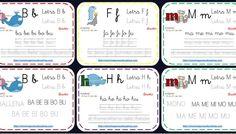 Abecedario animales fichas repaso lecto-escritura consonantes parte 1