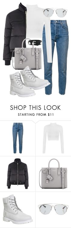 """""""Untitled #2364"""" by mariie0h ❤ liked on Polyvore featuring 10 Crosby Derek Lam, WearAll, Topshop, Yves Saint Laurent, Timberland, Christian Dior and Sonia by Sonia Rykiel"""