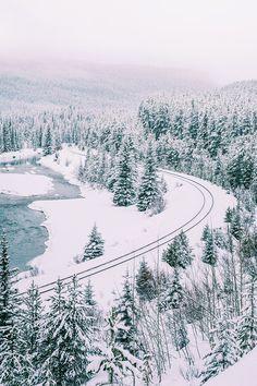 Walking in a winter wonderland.