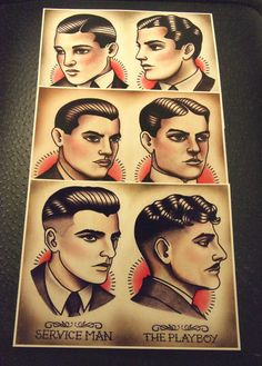 Hey, I found this really awesome Etsy listing at http://www.etsy.com/listing/150417253/1920s-gentlemens-hairstyle-guide-set-of