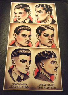 1920's Gentlemen's Hairstyle Guide