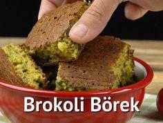 Brokolili tariflere bir yenisini ekliyor, çok az miktarda un kullanarak çiğ brokoli çiçeklerinden brokoli börek tarifi hazırlıyoruz.