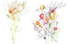 yangyang pan watercolor artwork