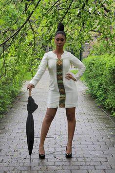 Habesha dress with modern chic twist