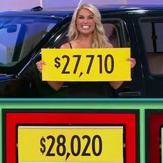 Rachel Reynolds - The Price Is Right (9/19/2016)