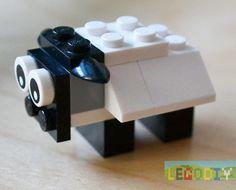Lego sheep Instruction #lego