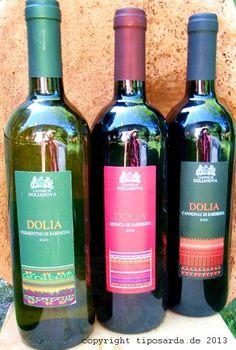 Tre gusti Cantina Dolianova  drei leckere Weine aus Sardinien - Dolia Monica, Vermentino und Cannonau