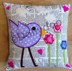Purple Funky Bird