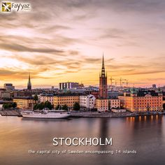 Stockholm, the capital of Sweden, encompasses 14 islands and more than 50 bridges on an extensive Baltic Sea archipelago. The cobblestone streets and ochre-colored buildings of Gamla Stan (the old town) are home to the 13th-century Storkyrkan Cathedral, the Kungliga Slottet Royal Palace and the Nobel Museum, which focuses on the Nobel Prize. Ferries and sightseeing boats shuttle passengers between the islands. The different island have a distinct character which you can explore due to the…