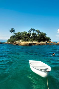 "Best Beach Runner-Up: Ilha Grande, Brazil. ""No country does beach culture better than Brazil, and Ilha Grande's 106 white-sand ones are pristine,"" our reporters say. (Click through to see full list of Outside Magazine's 2012 Travel Awards.)"
