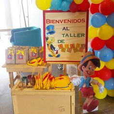 Pinocchio, 3rd Birthday Parties, Boy Birthday, In The Zoo, Birthday Numbers, Holidays And Events, Luigi, Babyshower, Toy Chest